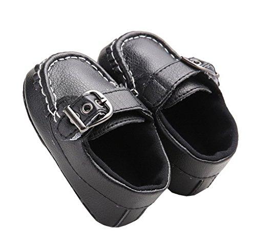 ACMEDE Baby Mädchen Taufschuhe Lauflernschuhe weiche Sohle Schuhe Sneaker Schwarz