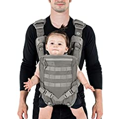 The Mission Critical S.01 Baby Carrier is a forward facing baby carrier designed from the ground up for dads. This tactically inspired baby carrier has a simple ergonomic design that makes it super easy to put on. Your baby can face front or ...