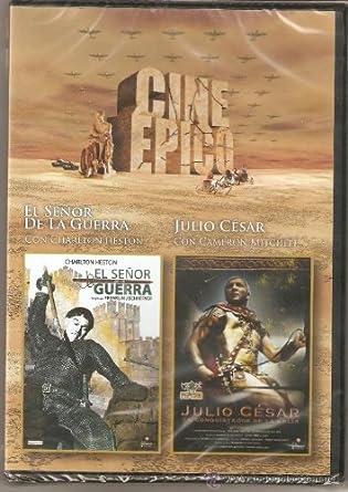 Pack Cine Épico EL SEÑOR DE LA GUERRA - JULIO CESAR: Amazon.es ...