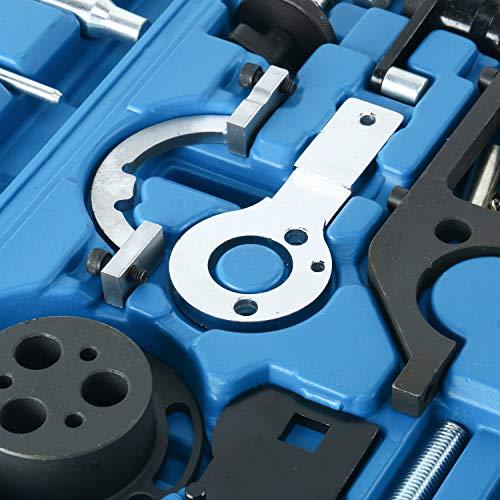 FreeTec Herramienta de Ajuste de Motor de Cadena de Distribución Herramienta de Correa de Distribución Para Opel Vectra Astra Corsa