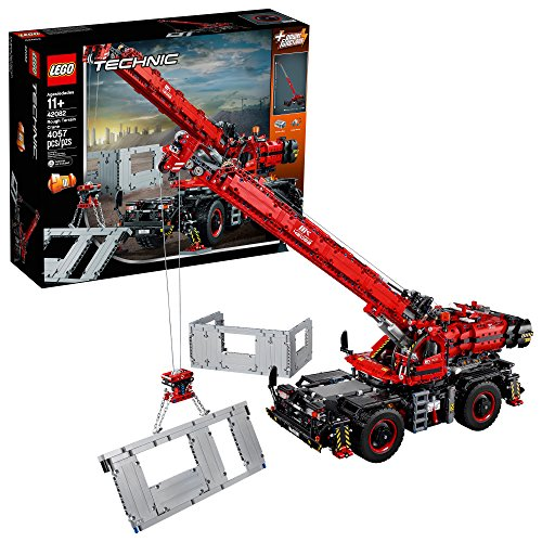 LEGO Technic Rough Terrain Crane 42082 Building Kit