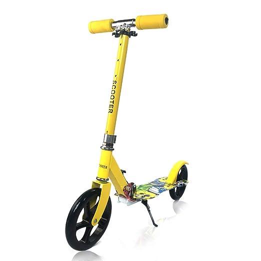 Patinete- Amarillo, Scooter Plegable De 2 Ruedas para Niños ...