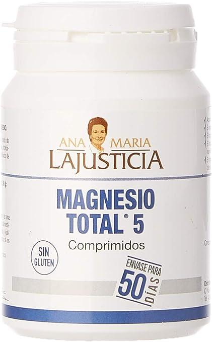 Ana Maria Lajusticia - Magnesio total 5 – 100 comp. Disminuye el ...