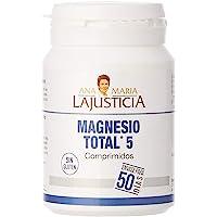 Ana Maria Lajusticia - Magnesio total 5 – 100 comp. Disminuye el cansancio y la fatiga,…