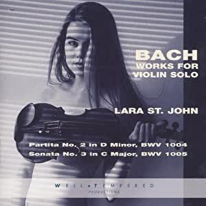Bach: Works for Violin Solo