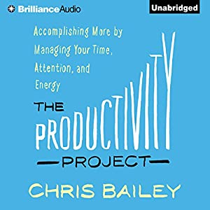 The Productivity Project Audiobook