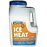 Superio 218 Calcium Chloride Ice Heat Snow & Ice Melter, 10 lb. White