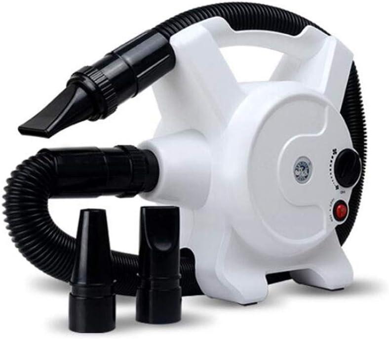 CHENGXINGF Mascota secador de Pelo, Perro Grande de Pelo Largo secador de Pelo de Perro, secador de Alta Potencia, Limpieza del hogar for Mascotas Fuentes de la Belleza (Color : White)