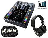 Native Instruments Traktor Kontrol Z2 DJ Mixer + FREE Tascam TH-02 + (2) XLR CABLES 18ft ea