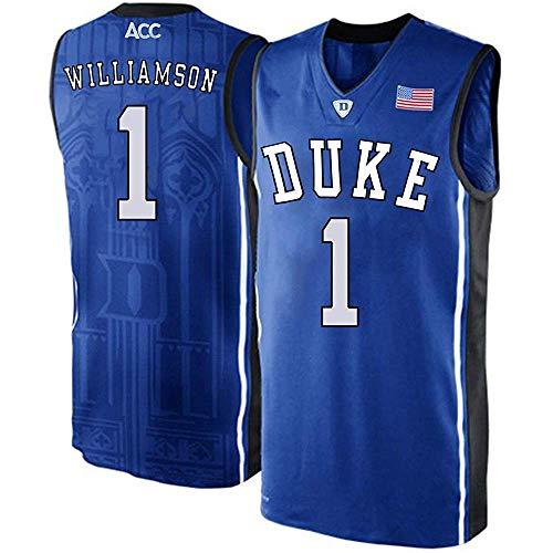 (Men's/Women's/Youth_Zion_Williamson_Duke_Blue_#1_Devils_College_Blue_Elite_Jersey)