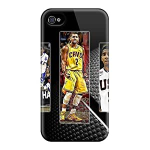 iphone covers Excellent Cell-phone Hard Cover For Iphone 5c (zAF4313wTGo) Provide Private Custom Realistic Kyrie Irving Pattern