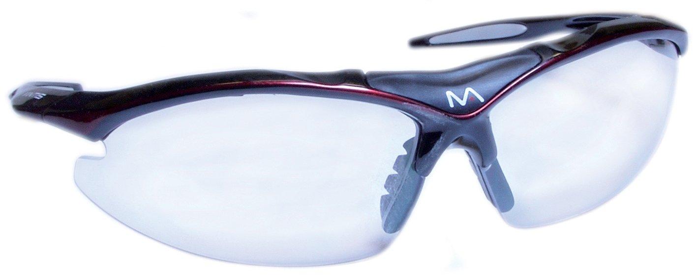 Mantis Squash - Gafas de protección, color negro y rojo 5027535901003