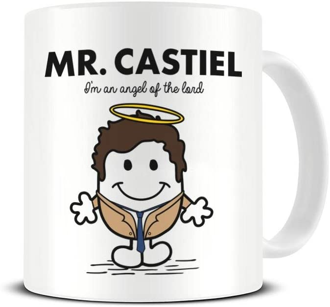 Mr Castiel Mug - I'm An Angel of the North