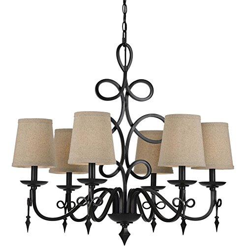 AF Lighting 8600 Chandelier - Bronze