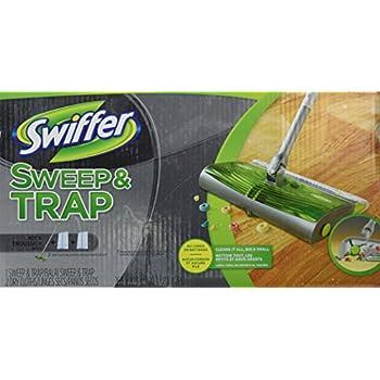 Amazon Com Swiffer Sweep Amp Trap In The Box Starter Kit 1