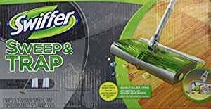 Amazon Com Swiffer Sweep Amp Trap In The Box Starter Kit 1