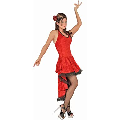 Amazon.com: De la Mujer Flamenco Dancer Traje (SZ: small 6 ...