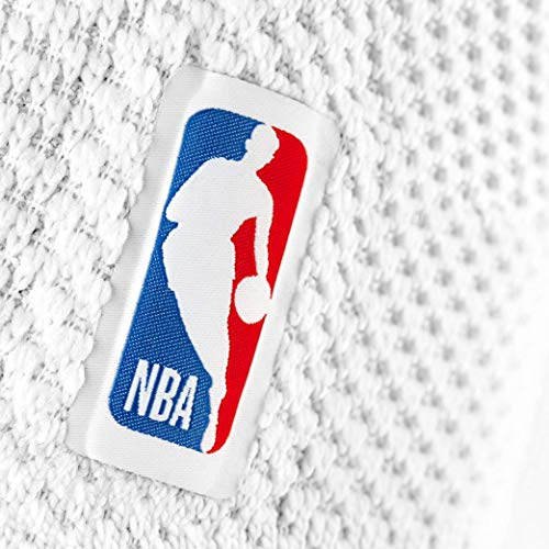 Bauerfeind GenuTrain NBA Knee Brace - Basketball Support with Medical Compression - Sleeve Design with Patella Pad Gel Ring for Pain Relief & Stabilization (White, XS) by Bauerfeind (Image #3)