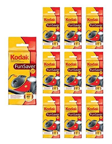 10x Kodak Disposable Camera FunSaver Flash 35mm Film