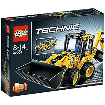 lego technic 42004 mini backhoe loader toys games. Black Bedroom Furniture Sets. Home Design Ideas