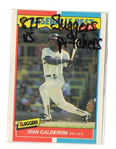 (1987 Fleer Sluggers vs Pitchers CHICAGO WHITE SOX Team Set)