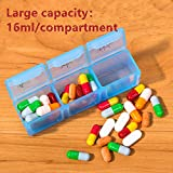 HRX Package Large Weekly Pill Planner Organizer 3