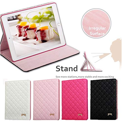 Sala-Deco - Luxury Bowknot Leather Smart Case Stand Cover Protective Skin Leather Protective Cover For iPad2 3 4 Air Air 2 mini from Sala-Deco