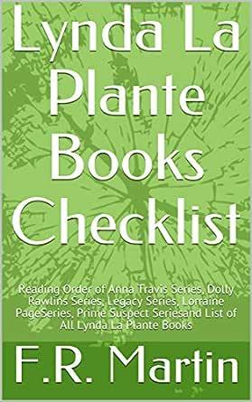 Lynda La Plante Books Checklist: Reading Order of Anna Travis ...
