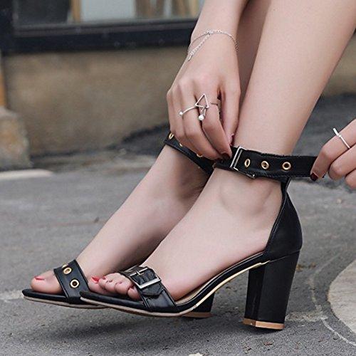 Nero Tacco Da Completa 50eu Disponibile Sandali Donna Grosso Sjjh Con Misura 30eu E 8O7qt0