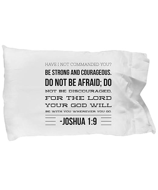 DaveBu57 Joshua - Funda de Almohada con Texto en inglés Have ...
