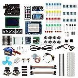arduino starter kit deluxe - FidgetFidget SainSmart Deluxe Starter Kit (CHIKU) with UNO R3 LCD 12864 Shield for Arduino