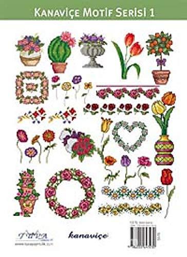 Cross Stitch Motif Series 1: Garden & Flowers: 200 New Cross Stitch ()