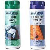 NIKWAX【ニクワックス】 NIKWAXセット Loft テックウォッシュ【EBE181】&TX ダイレクトウォッシュイン【EBE251】ウェア用洗剤 ...