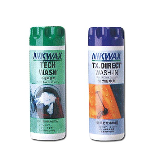 NIKWAX【ニクワックス】 NIKWAXセット Loft テックウォッシュ【EBE181】&TX ダイレクトウォッシュイン【EBE251】ウェア用洗剤 ...の商品画像