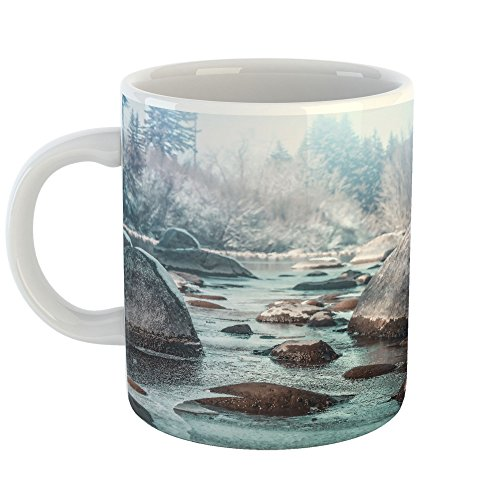 Westlake Art - Coffee Cup Mug - Water Nature - Modern Picture Photography Artwork Home Office Birthday Gift - 11oz (x9m-9b1-97e) - Coldwater Therapy