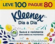 Klennex Lenço Classic, 100 unidades, modelos/cores sortidos