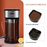 Iced Tea Maker and Iced Coffee Maker Brewing System