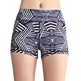 SOUTEAM Women High Wasit Shorts Stretchy Shaping Yoga Pants