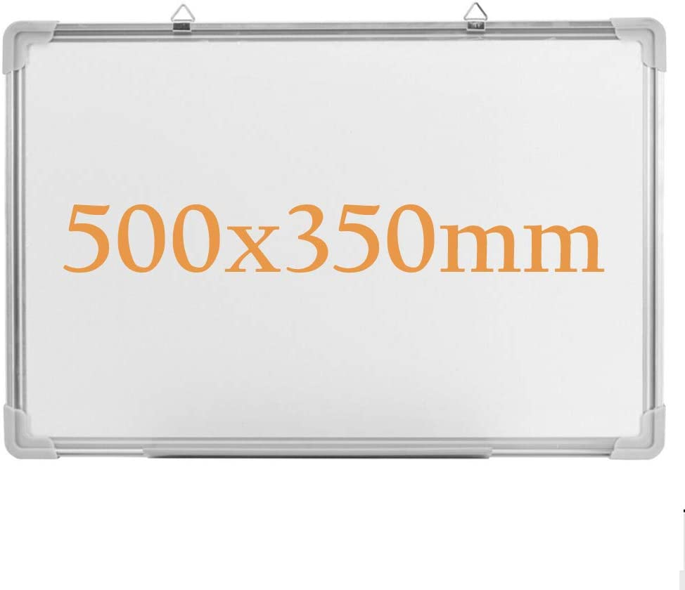 Tableau blanc magn/étique effa/çable /à sec 50x35cm