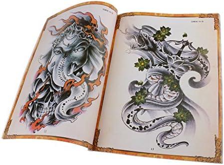 harayaa 80 Paginas Tatto Boek met Bold Designs Reference Book