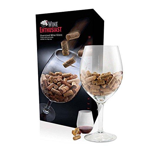 Wine Enthusiast Oversized Wine Glass Cork Holder ()