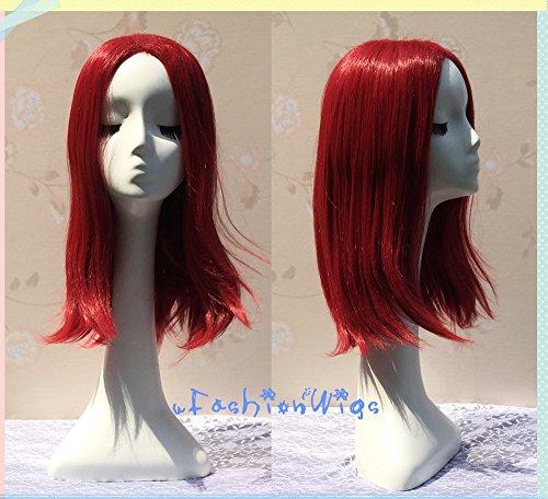 X-Men Mystique Central Parting X-Men Mystique Central Parting Cosplay Wig, 60cm Scarlet Red Anime Lolita Wigs for Party UF110Cosplay Wig, 60cm Scarlet Red Anime Lolita Wigs for Party UF110 -