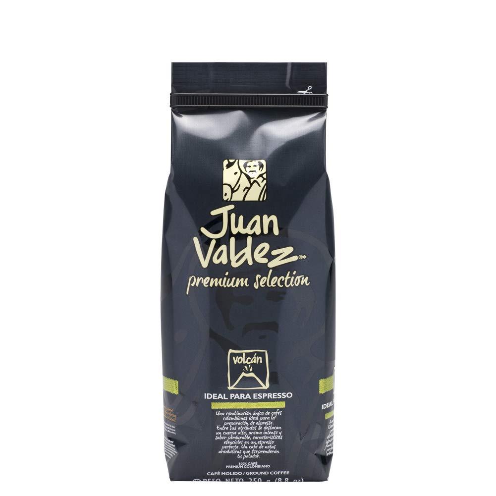 Café Juan Valdez Premium Volcán. Café Molido 250g: Amazon.es ...
