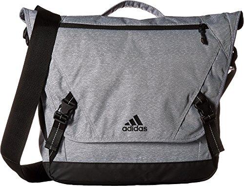 Adidas adidas Sport ID Messenger Bag, Heather Grey/Black,
