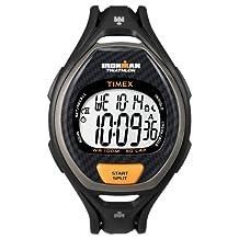 Timex- Ironman 50 Lap Men's Digital Watch Black/Orange