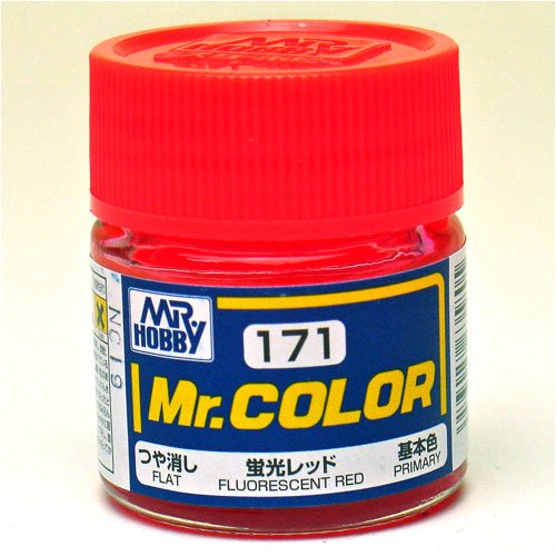 Mr.カラー C171 蛍光レッド