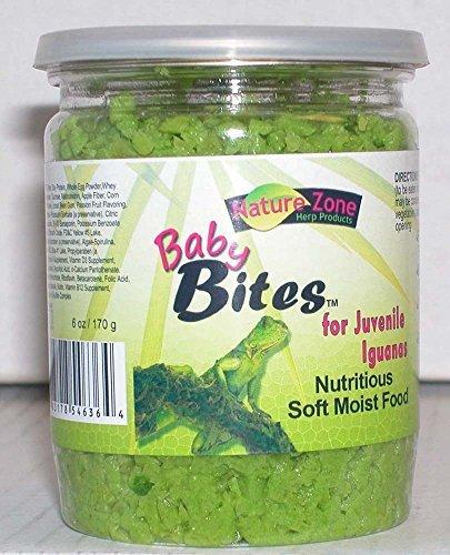 Iguana Bites (Nature Zone Juvenile Iguana Baby Bites 6oz by Nature Zone)