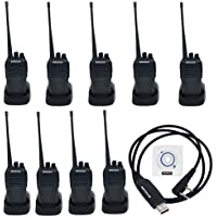 10pcs Baofeng UV-6 Dual Band 136-174MHz 400-480MHz Tow Way Radio