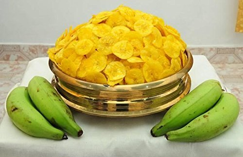 Worth2Deal Kerala Special Banana Chips (Coconut Oil Fried), 1000 ...