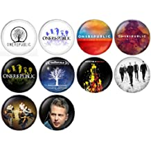 OneRepublic Pinback Buttons Badges/Pin 1 Inch (25mm) Set of 10 New